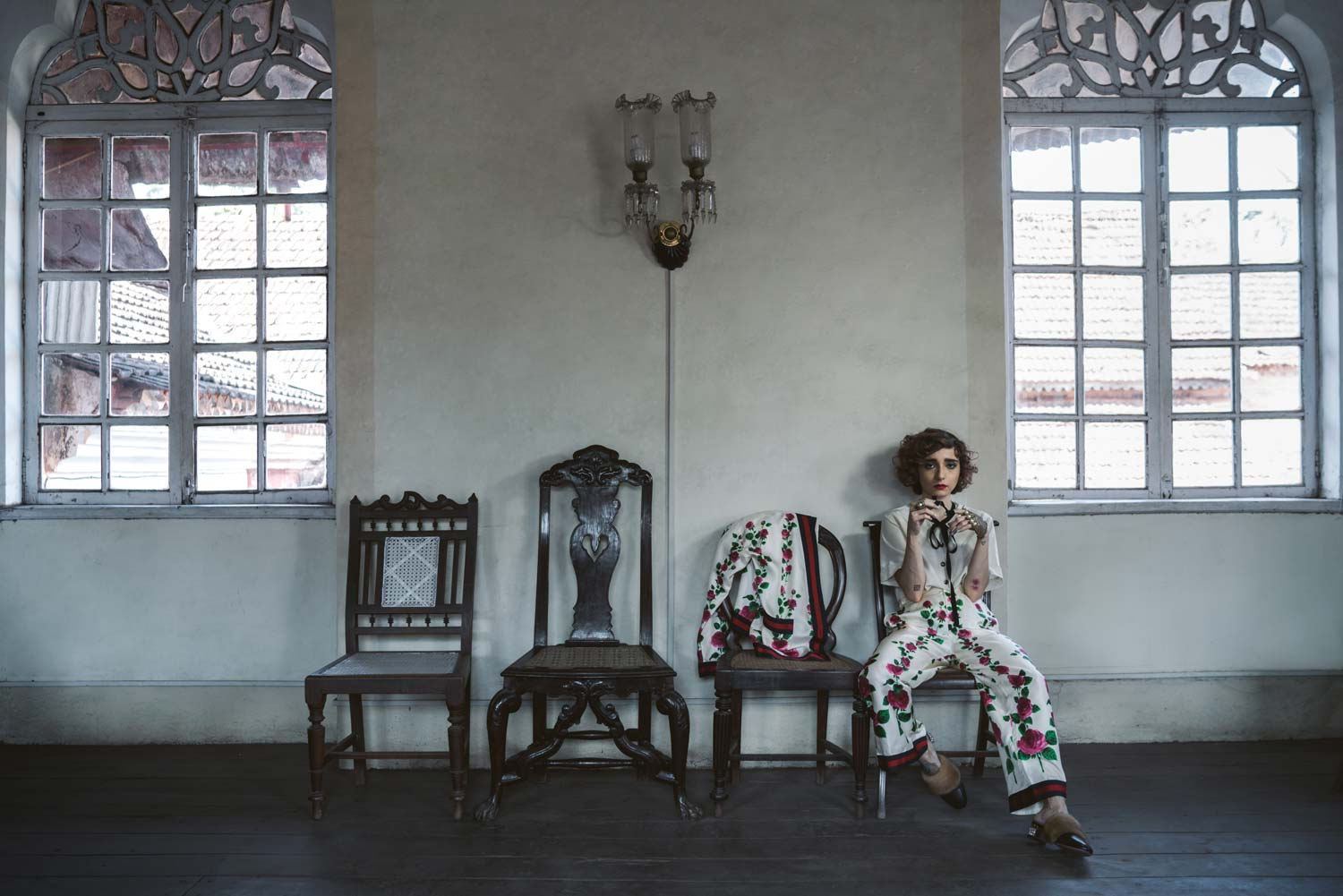 currentMood magazine, kayaan contractor for Gucci Curise 17