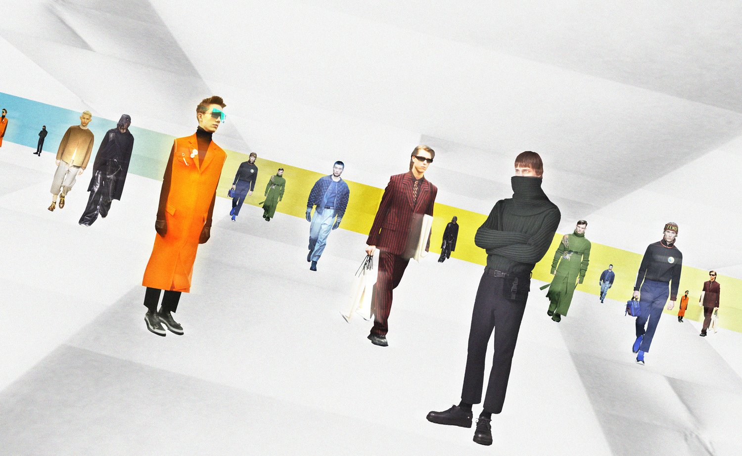 Menswear Trends - Art By Sarah Harvey