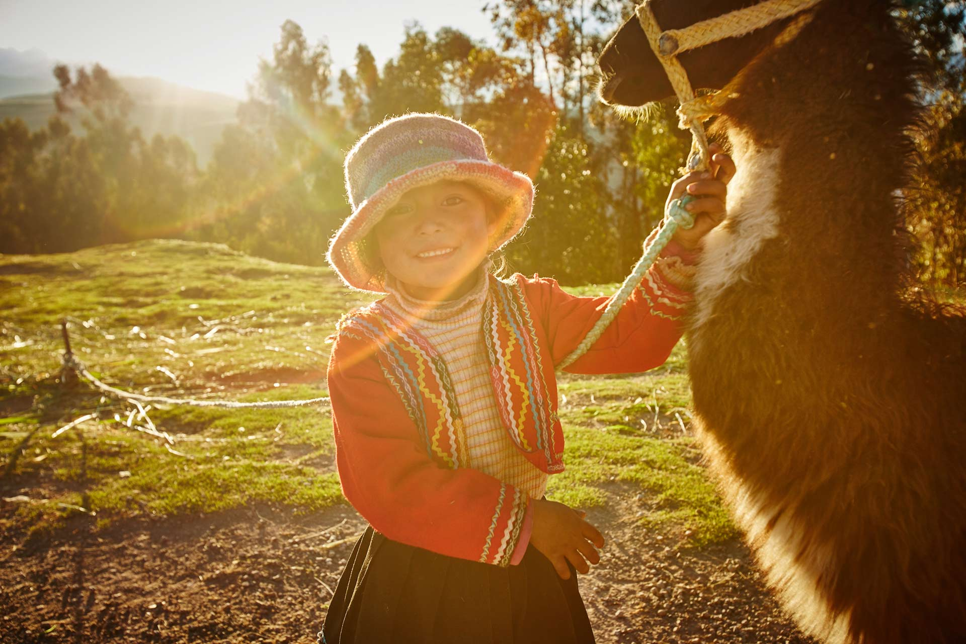 A child in Peru - Rohan Shrestha's photography