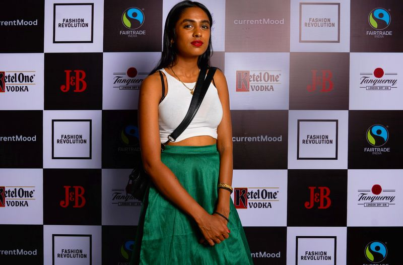 Natasha Sumant from Gundi studio's at currentMood's 2nd Anniversary issue launch party in association with Fashion Revolution at the little door, mumbai