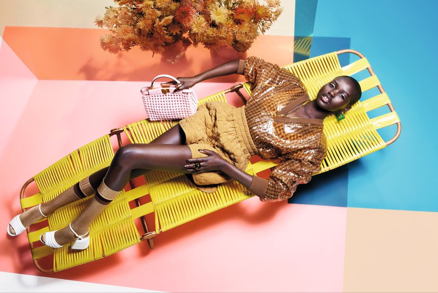 Fendi Unveils Its Women's Spring/Summer20 Campaign featured in currentMood magazine