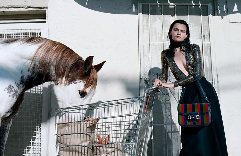 Gucci ss20 campaign featured on currentMood magazine 11