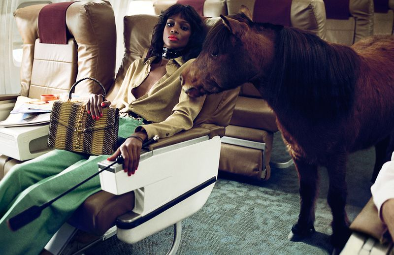 Gucci ss20 campaign featured on currentMood magazine 9