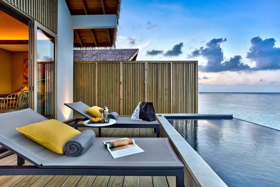 Thinking of your next holiday? Head to the Hard Rock Hotel, Maldives