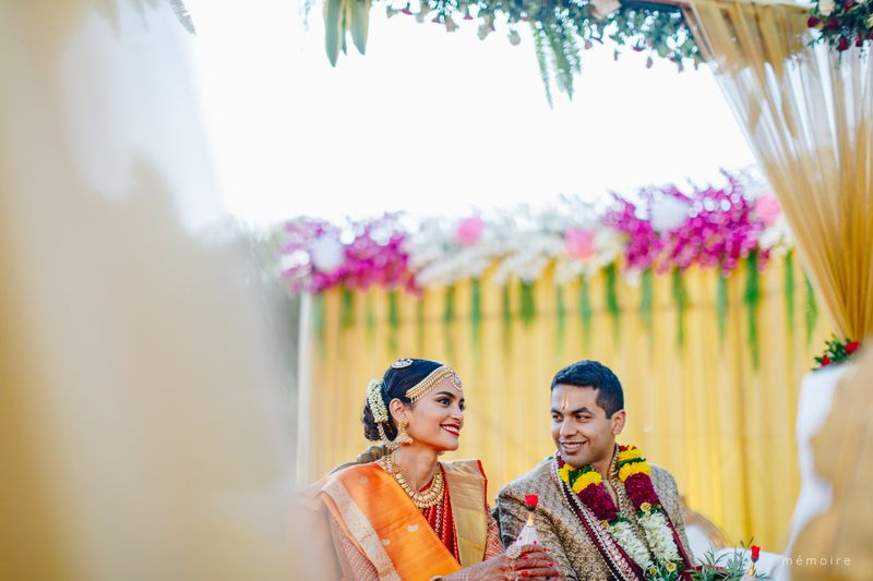 Natasha Ramachandran wedding featured in currentMood magazine
