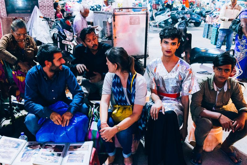 Varun Khandare, Divya Roop and Juhi Taneja explore public reactions to gender neutrality on the streets of Delhi, for currentMood, indian online magazine 1