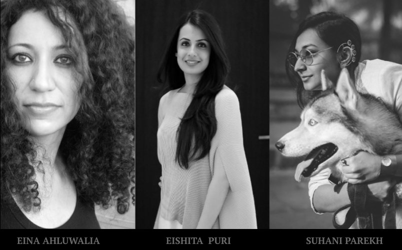 Indian Jewellery designers - Eina Ahluwalia, Eishita Puri and Suhani Parekh