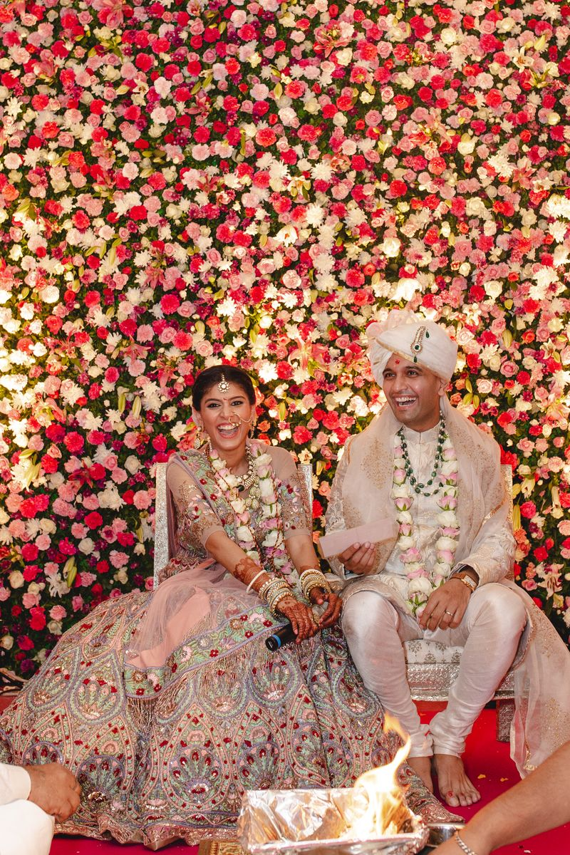 Shruti Thacker wedding featured on currentMood magazine
