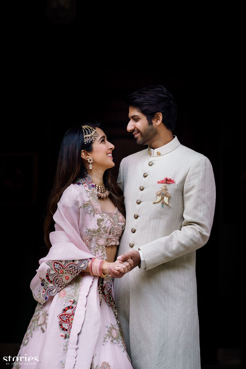 Stylist Sanjana Batra wedding featured in currentmood magazine
