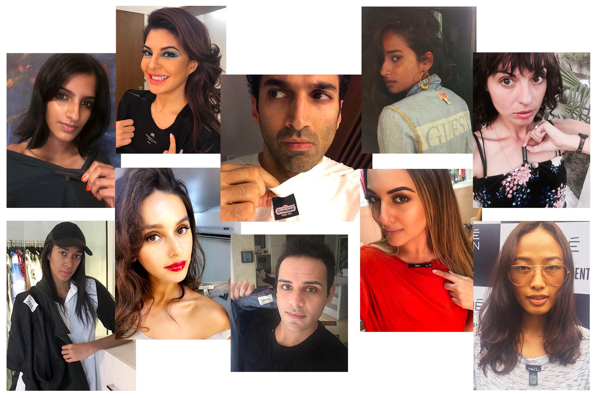 "Fashion Revolution - 10 celebrities and influencers ask their favourite brands, ""Who Made My Clothes?"""