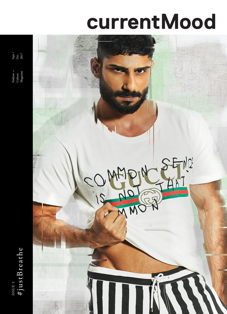 Issue-3 -Justbreathe - Featuring Prateik Babbar depicting the state of mind