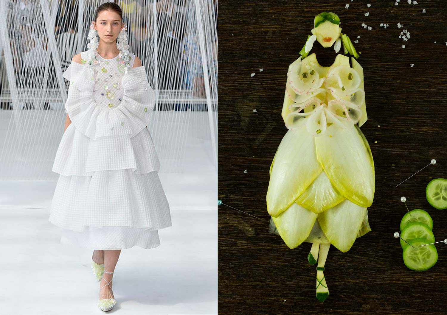 Runway to the Kitchen - Viktor & Rolf Spring 2017 Couture; Image courtesy: vogue.com | Fashion magazine | Fashion magazine in India | Online fashion magazine | Online fashion magazine in India | Indian fashion magazine