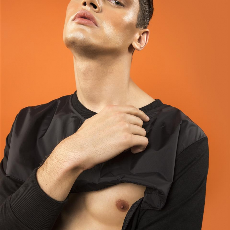 Shashank Uchil and Chitti Prathap's photography series - Orange Crush - Featuring Model Marcin Setlak